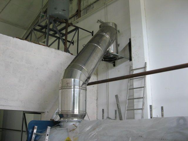 Дымоходы в котельную для завода