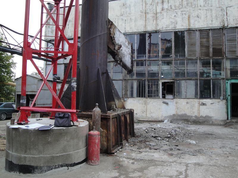 реконструкция дымовой трубы